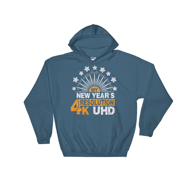 My New Years Resolution Unisex Hooded Sweatshirt - Dynamic Clothing Box