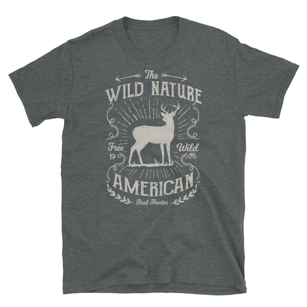 Wild Nature Short-Sleeve Unisex T-Shirt - Dynamic Clothing Box