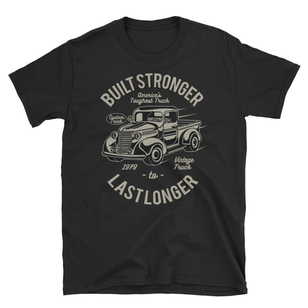 Built Stronger Short-Sleeve Unisex T-Shirt - Dynamic Clothing Box