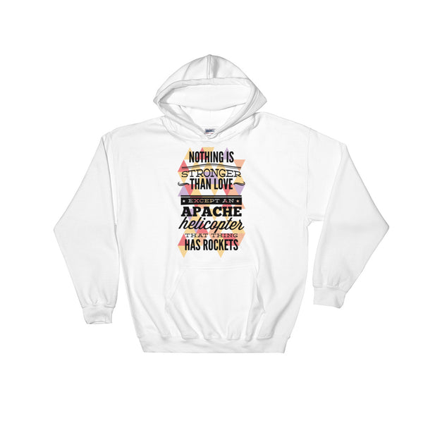 Nothing Is Stronger Than Love Unisex Hooded Sweatshirt - Dynamic Clothing Box