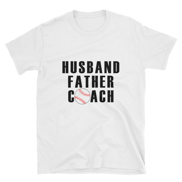 Husband Father Coach Short-Sleeve Unisex T-Shirt - Dynamic Clothing Box