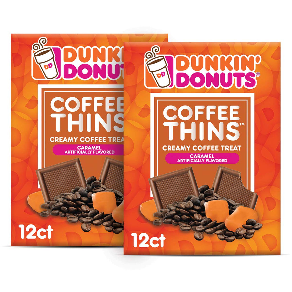 Coffee Thins Caramel 24 Count (2x12ct)