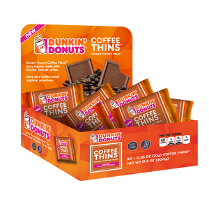 Coffee Thins 50 Count Box - Caramel