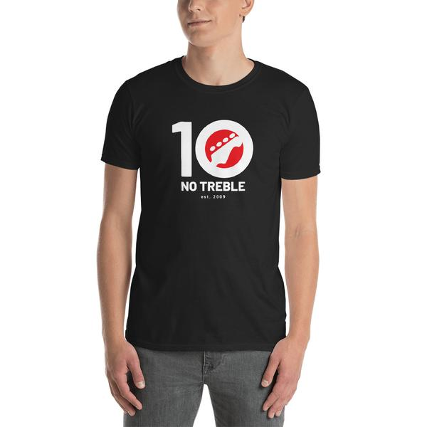No Treble 10th Anniversary T-Shirt (Men)