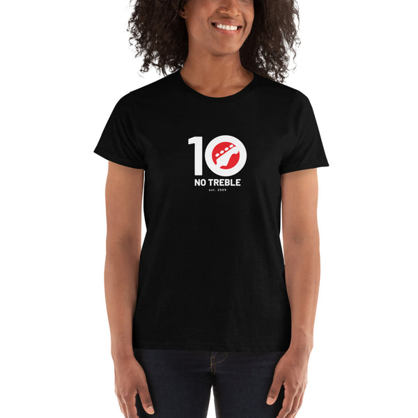 No Treble 10th Anniversary T-Shirt (Women)