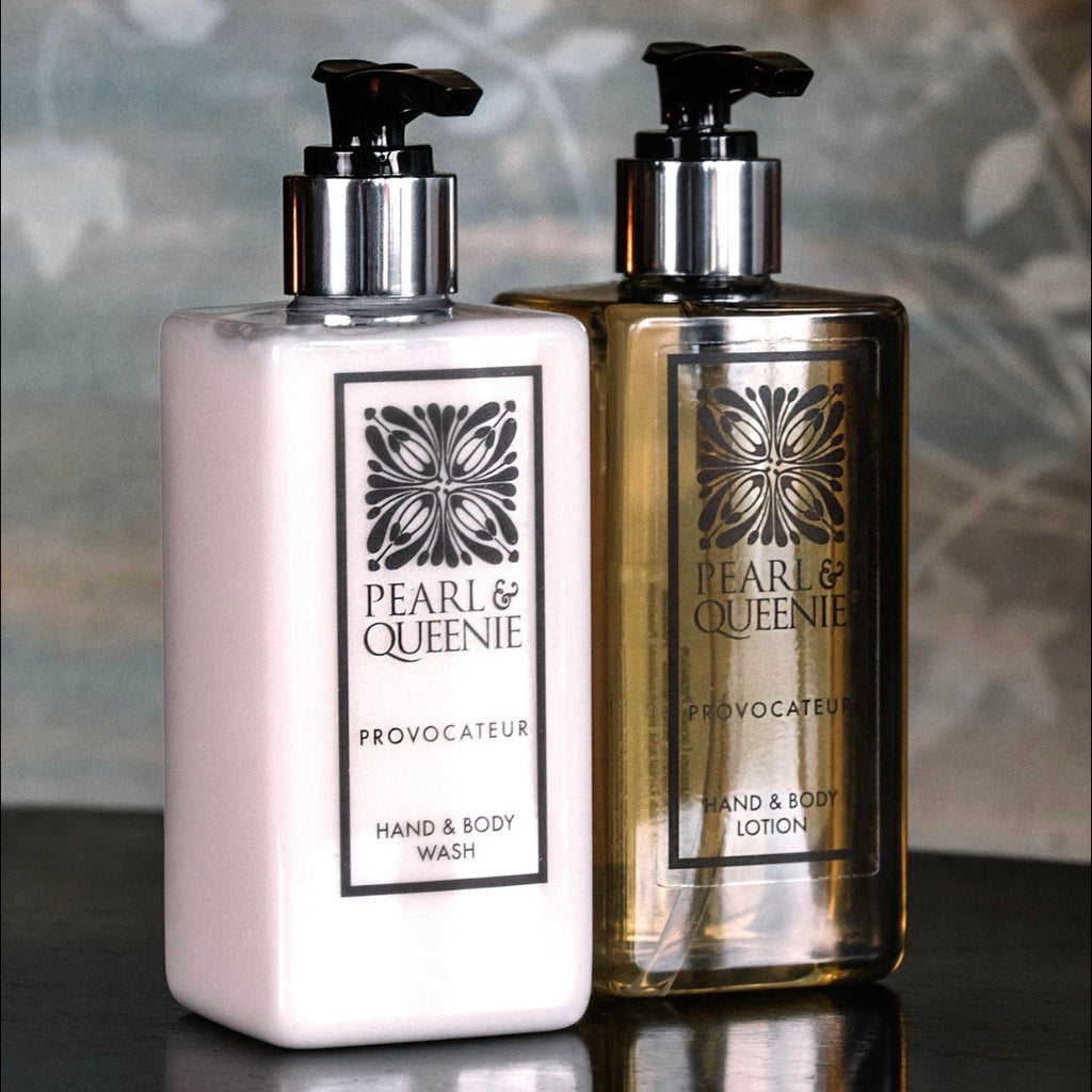 Luxury Hand & Body Lotion by Pearl & Queenie