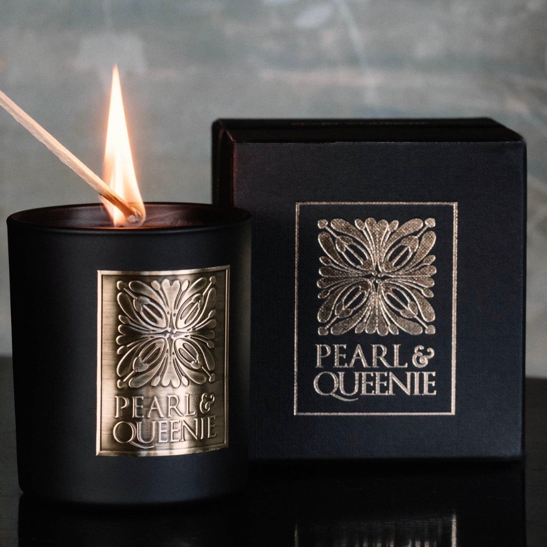 Luxury Candle by Pearl & Queenie