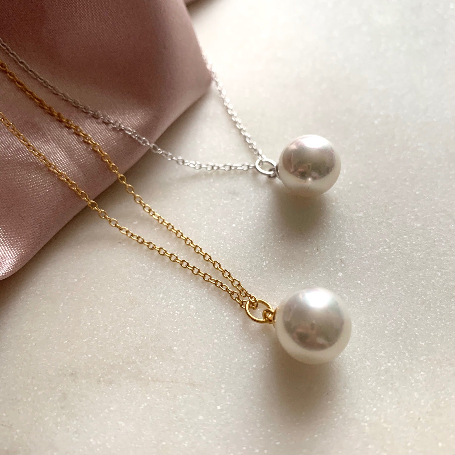 Pearl Necklace by Pearl & Queenie