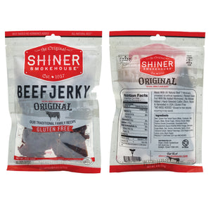 All Natural Beef Jerky Original Pack (6 pack)