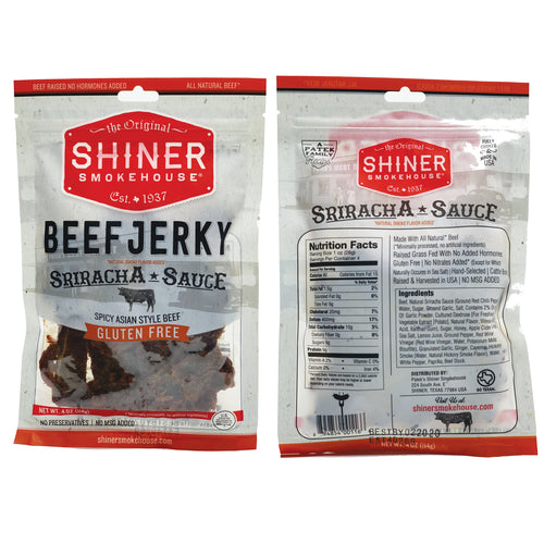 All Natural Beef Jerky Sriracha Sauce Flavor (3 pack)