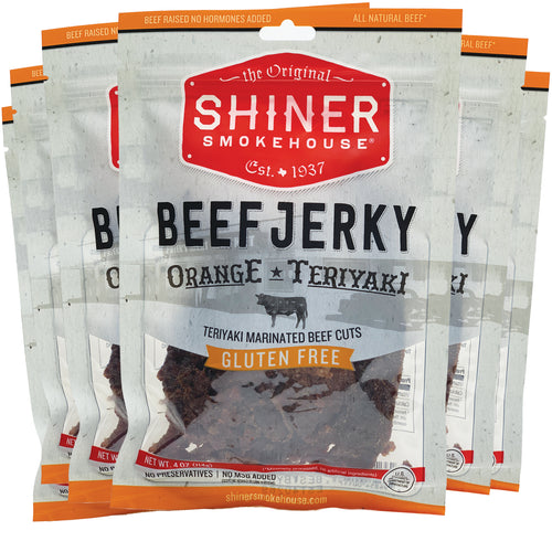 All Natural Beef Jerky Orange Teriyaki Flavor (6 pack)
