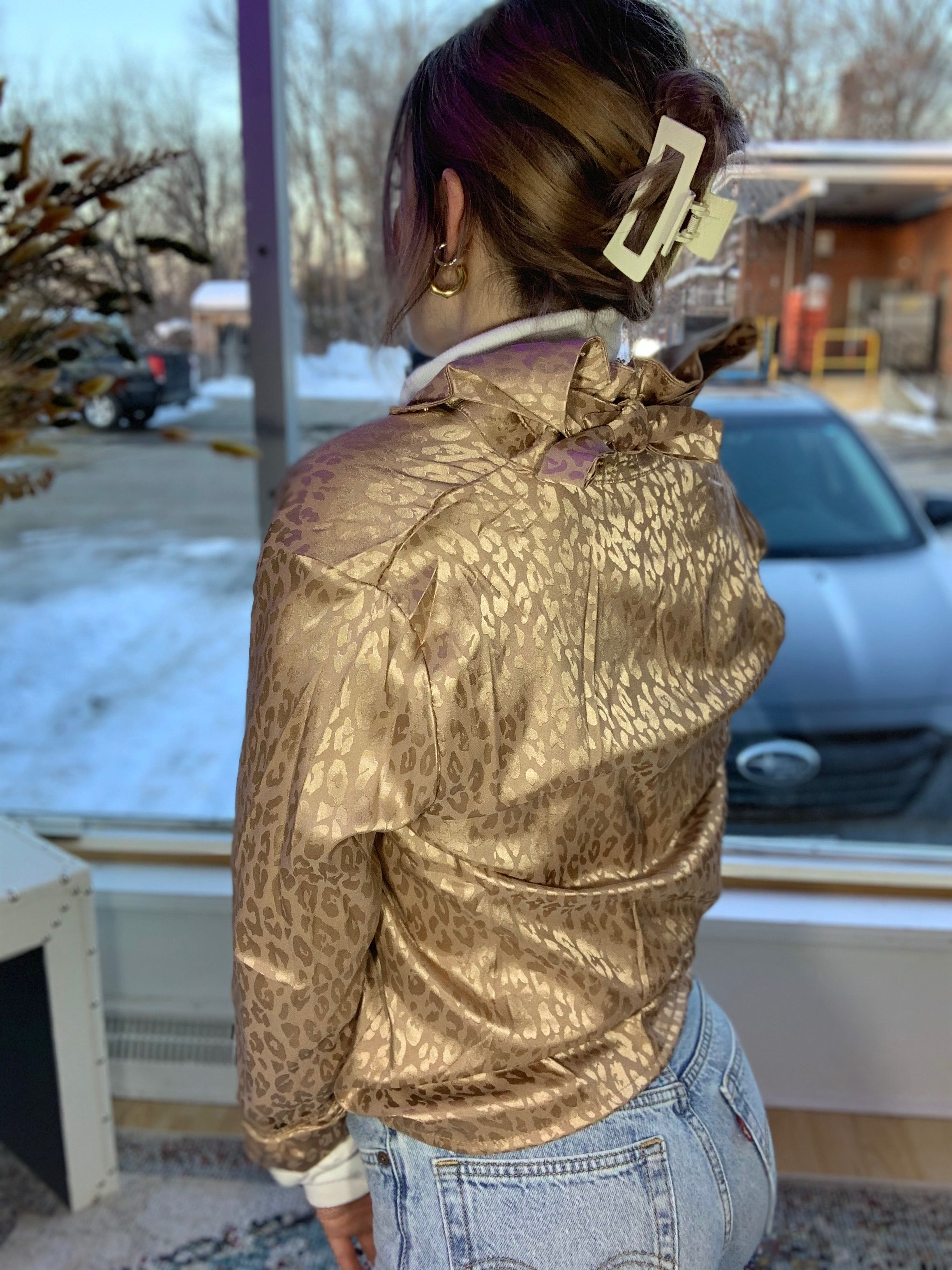 Gold Link Blouse