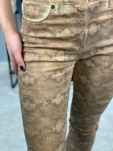 Guess Textured Snakeskin Pants