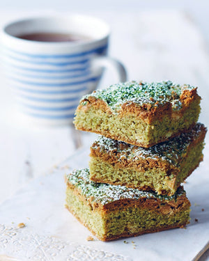 matcha blondies recipe