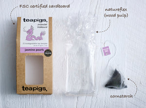 Is there plastic in our tea and packaging? | teapigs