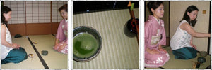 Traditional matcha tea ceremony in Japan