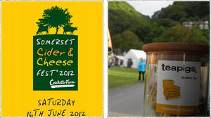 up next, cheese, cider and a bit of eco fun