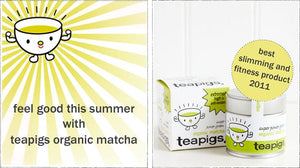 Feel good with teapigs organic matcha this summer