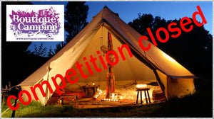 Win a boutique camping bell tent