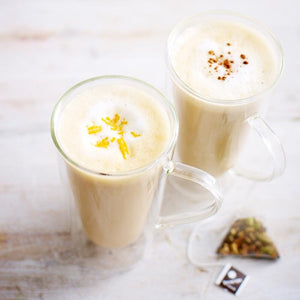 How to create a tea latte at home