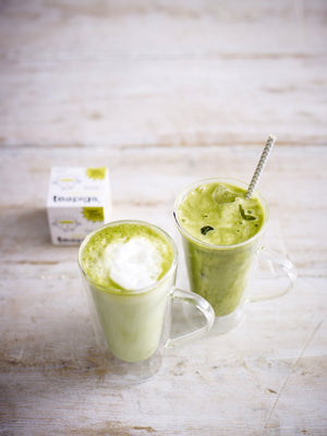 Iced matcha latte recipe  | teapigs