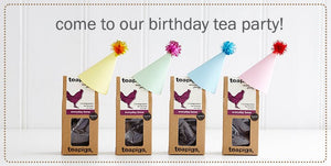 Cause there aint no party like a teapigs tea party...