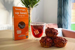 how to make up beet morning muffins