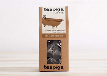try our chocolate tea