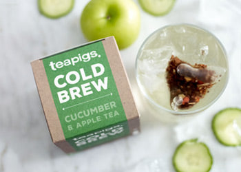 cucumber & apple cold brew