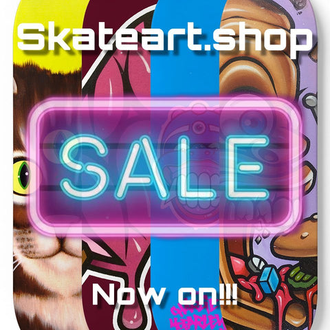 Skateart Sale Now On!