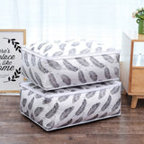 Fold-able Storage Bag & Blanket Quilt Organisers