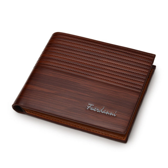 Woodgrain Wallet PU Leather Luxury Wallets