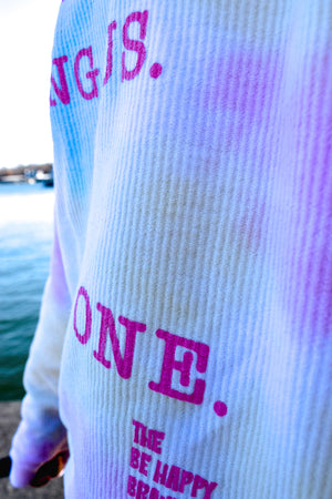 There are Angels Among Us. Be One Long Sleeve Sweatshirt