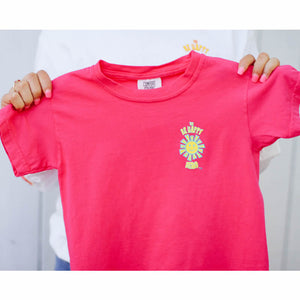 Happy Little Human T-Shirt - Heliconia