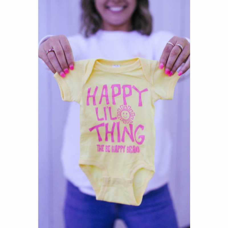 Butter Happy Li'l Thing Onesie