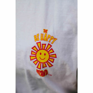 The Be Happy Brand's Original Logo Long Sleeve T-Shirt