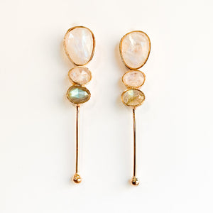 Moonstone Gradient Earrings