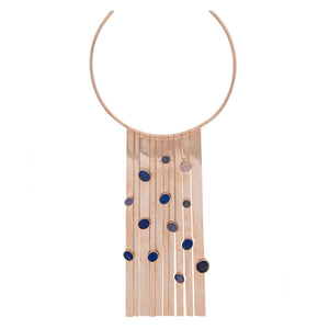 Blue Waterfall Neckpiece