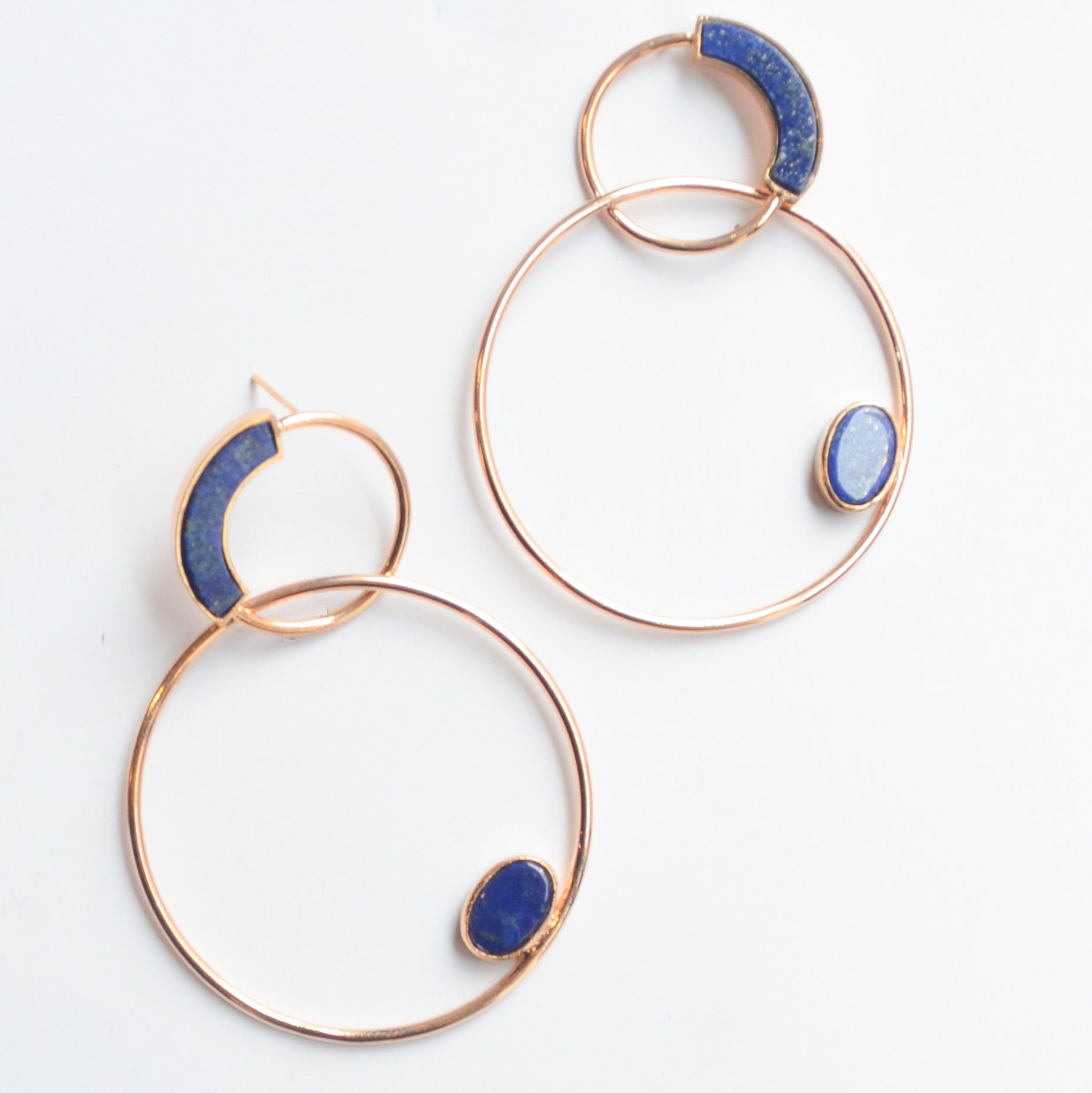 Double Entwine Lapiz Hoops