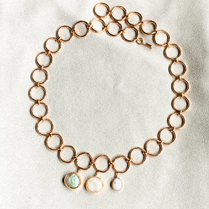 Circles and Stones Neckpiece
