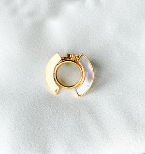 Mother of Pearl Petite Ring