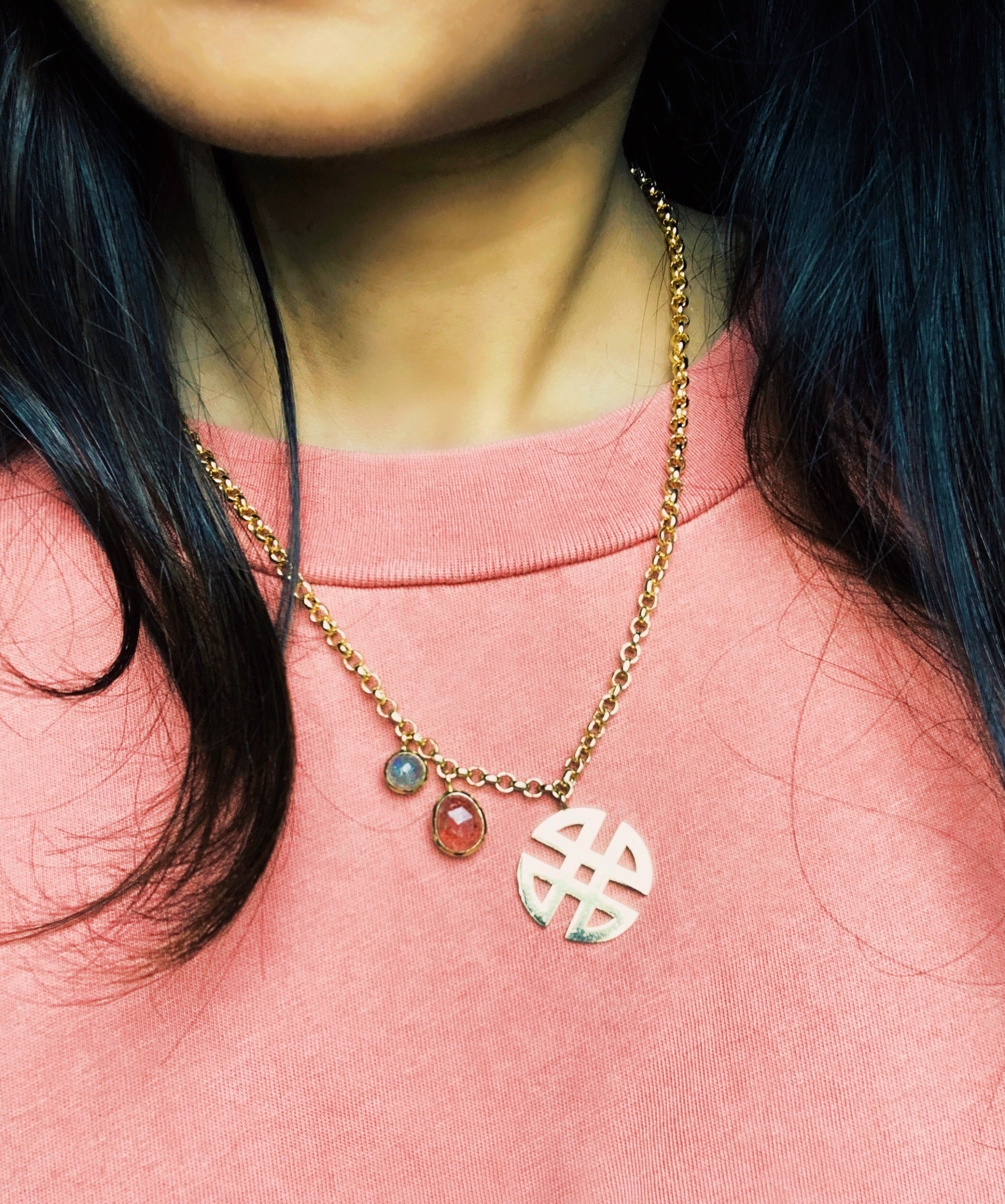 Shield Charm Neckpiece