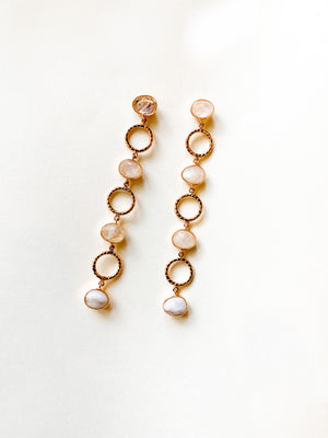Moonstone Cocktail Earrings