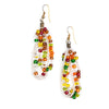Maasai Drop Earrings Mix Colour