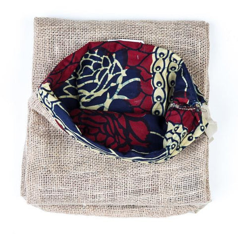 Yoga Matt Bag Organic Jute - Red