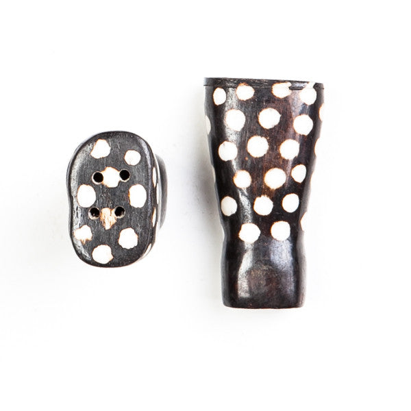Salt and Pepper Shaker Set Dot Design