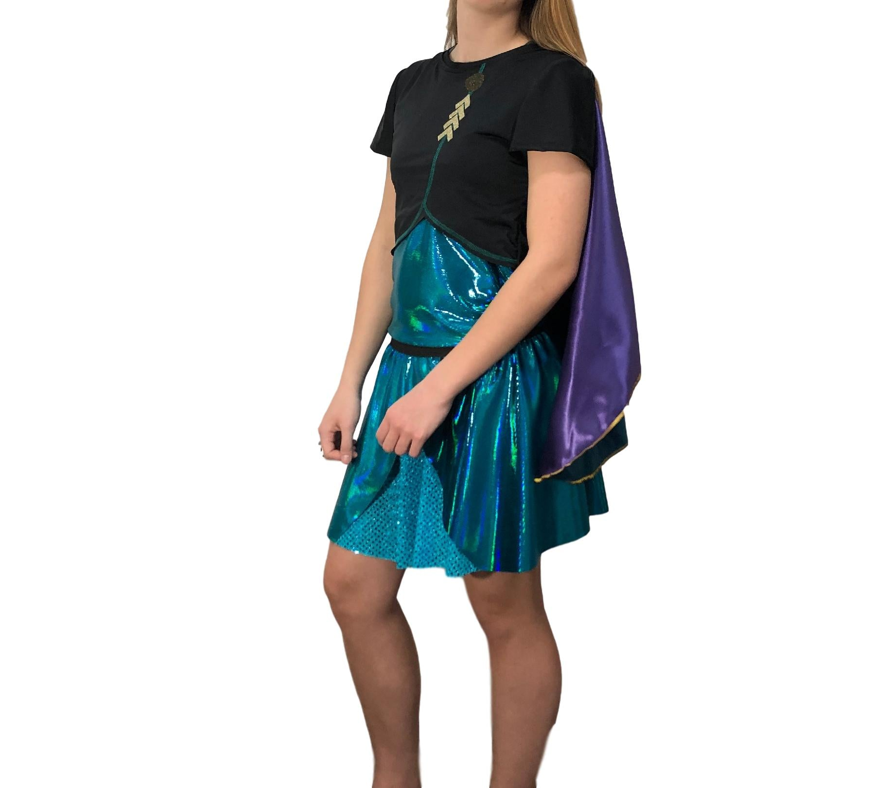 """Anna""  Inspired Cape - Rock City Skirts"
