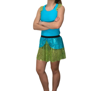 """Drizella"" Evil Stepsister Costume - Rock City Skirts"
