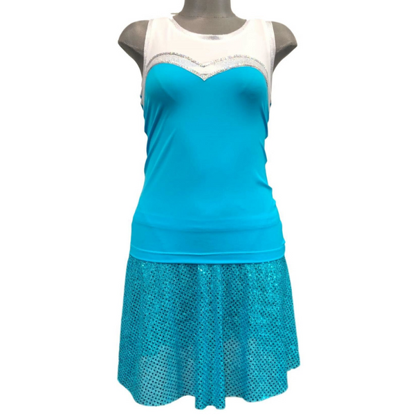 Snow Queen Elsa Frozen Inspired Racerback - Rock City Skirts