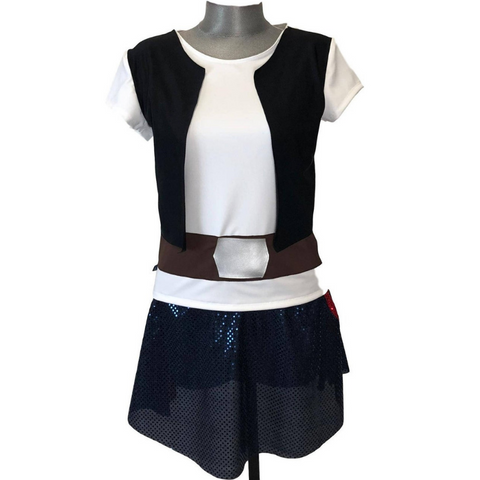 Smuggler Hans Solo Running Costume - Rock City Skirts